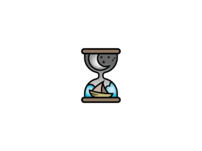 Ocean Hourglass Logo
