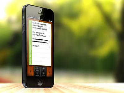 EISENHOWER: The urgent-important matrix for time management fans eisenhower iphone mobile app user interface productivity task management time management