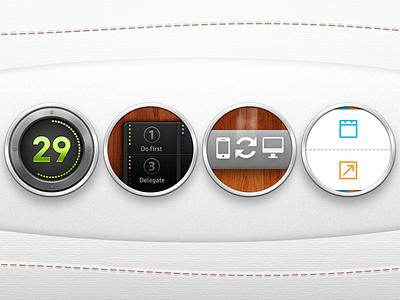 EISENHOWER: Key features arrangement web app eisenhower iphone user interface feature close-ups