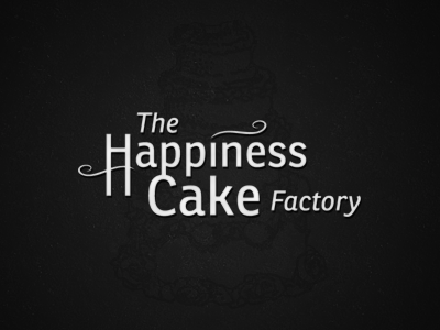 The Happiness Cake Factory logo confectionary bakery
