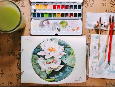 Lotus paint lotus