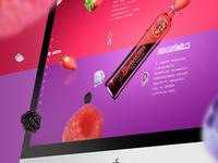 Hungarian Berentzen Liqueur website
