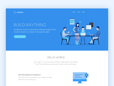 codeidea code illustration web