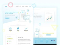 Landing Page for Payment System