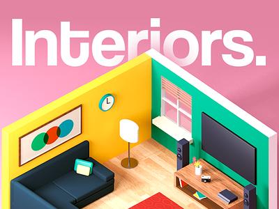 Interior design art designer design