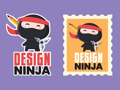 Design ninja sticker