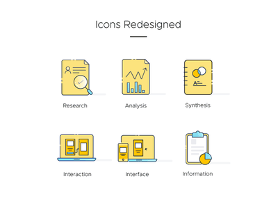 Design studio icon design information interface interation synthesis analysis research design icon