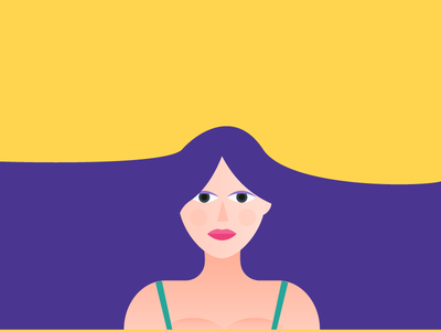 Freebie: Girl Illustration