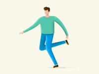 Running guy