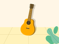 Lonely guitar