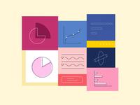 Analytics data illustration