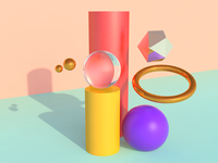 Shapes in cinema4d