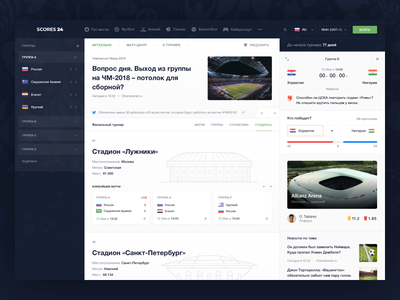 Scores24 World Cup 2018: Stadiums scores24 betting sport sport book football world cup tournament sport grid 2018 russia cybersport stadiums