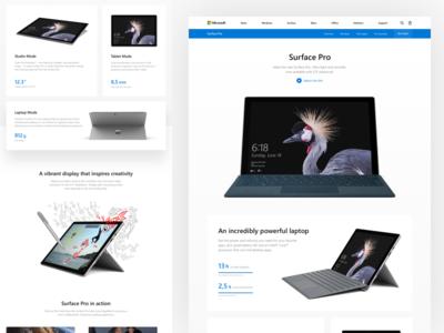 Microsoft: Surface Pro