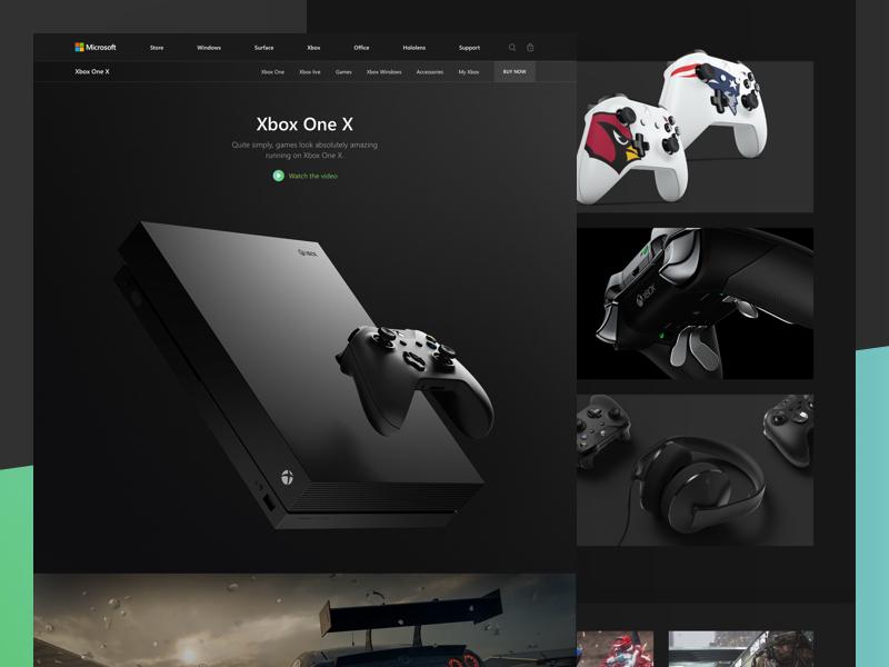Xbox one x shot