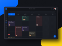 Project management tool: Calendar