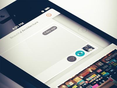 Edit Revealed ios ux edit reveal app swipe