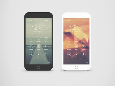 Custom Lockscreen lockscreen icons android