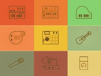 Icons synths