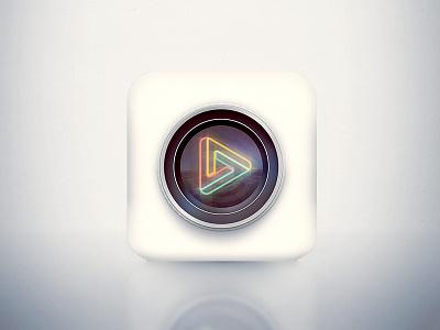 Dreamplay icon icon camera light video app ios