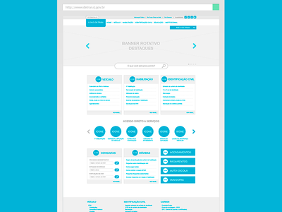 Quick wireframe for exercise! wireframe information architecture