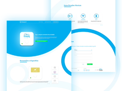 New product - Launch Landing Page landing page