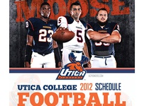UC Football Schedule poster 2
