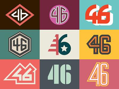 46 biden 46 logo type letter vector illustrator