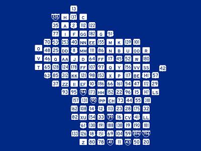 Wisconsin Roadtrip highways badger state map illustration illustrator