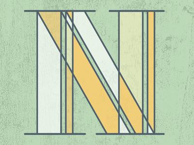 N typography type lettering letter illustrator hand lettering custom lettering 36 days of type