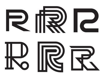 R typography type r logo lettering illustrator illustration hand lettering 36 days of type