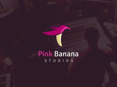 Pink Banana © logo design