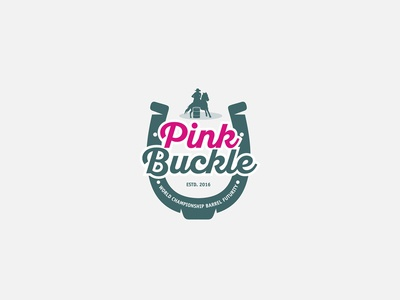 Pink Buckle © logo design