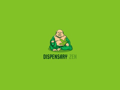 Dispensary Zen © logo design