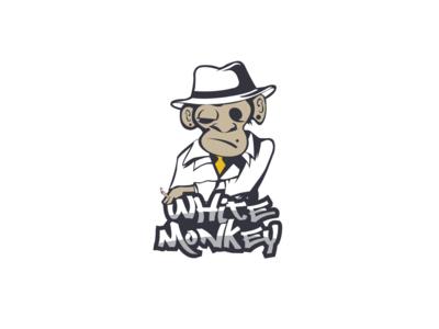 Logo White Monkey