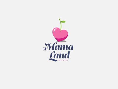 logo Mama land - love life