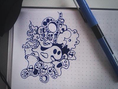 friday doodle doodle sketch drawing