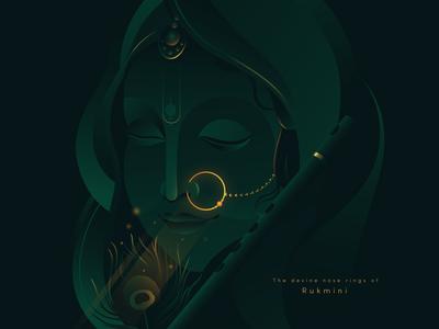 The Divine Nose Rings of Rukmini