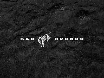 Bad Bronco Branding illustration overland offroad 3d render identity trucks ford horse skeleton badge logo branding bronco