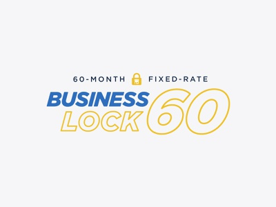 Stream's Business Lock 60 Energy Plan Logo badge identity ecommerce small business shop fixed rate rate business electricity energy branding logo