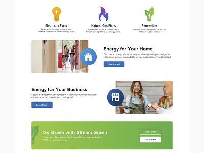 Stream Home Page Design website identity iconography icon design icon branding uiux ux ui web design web site web page