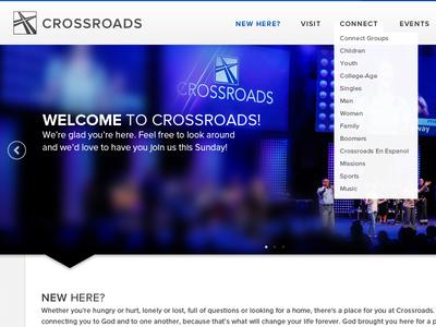 Crossroads Christian Church Website