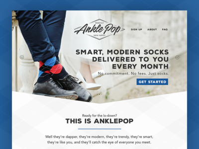 AnklePop Website