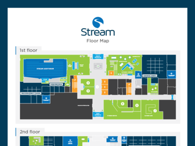 Stream Office Floor Map