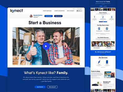 Kynect Website responsive web design mobile design ui design marketing site branding web web design ui  ux ui uiux webdesign website