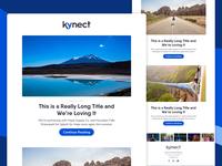 Kynect Blog Recap Email