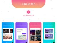 Colony App Design