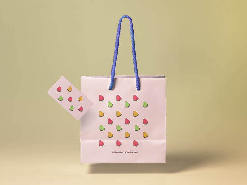 Shopping Bag Pattern Design
