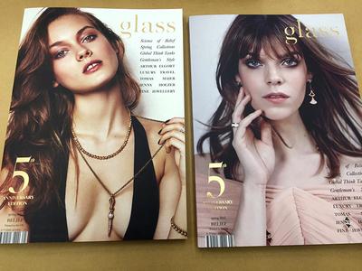 Happy Birthday Glass Magazine