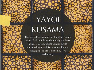 Yayoi Kusama for Glass Magazine yayoi kusama glass magazine